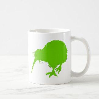 Kiwi Green Bird Coffee Mug