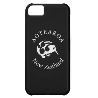 Kiwi gris con Koru, Aotearoa, Nueva Zelanda
