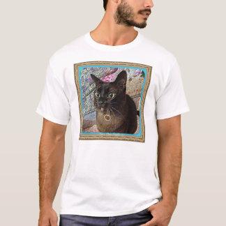 Kiwi in a box, series 1, pose 1, teal T-Shirt