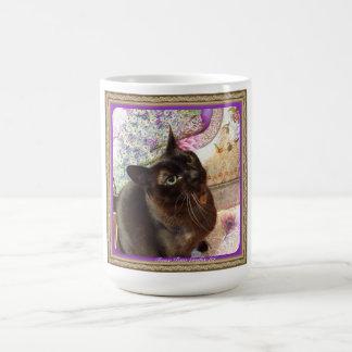 Kiwi in a Box, series 1, pose 2, plum Classic White Coffee Mug