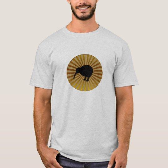 Kiwi in a starburst T-Shirt
