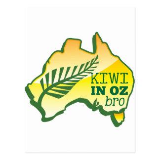 KIWI in OZ (Australia) BRO Postcard