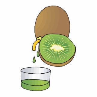 kiwi juice photo cut out