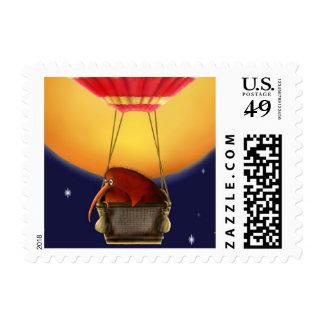 KIWI KEV's NIGHT FLIGHT - US Postage Stamps