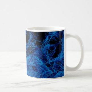 """Kiwi Lifestyle"" - A Touch of Blue Slice#2 Coffee Mug"