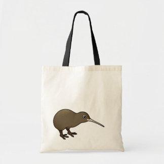 Kiwi lindo de Brown de Nueva Zelanda Bolsa Tela Barata