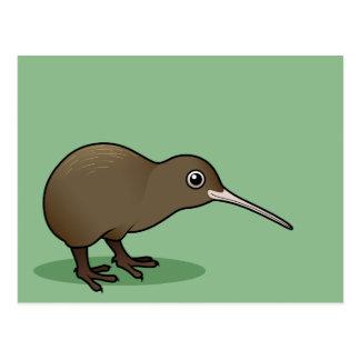 Kiwi lindo de Brown de Nueva Zelanda Tarjetas Postales