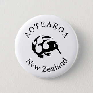 KIWI New Zealand /Aotearoa  national bird Pinback Button