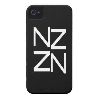 Kiwi New Zealand B&W NZ Design Patriotic Art Case-Mate iPhone 4 Case