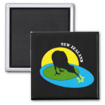 Kiwi - New Zealand Bird & Bro Travel (Aotearoa) Magnet