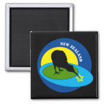 Kiwi - New Zealand Bird & Bro Travel (magnets) Magnet