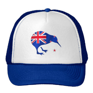 kiwi New Zealand flag soccer football gifts Trucker Hat