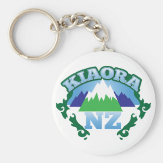 Kiwi Nueva Zelanda de KIORA hola Llavero Redondo Tipo Pin