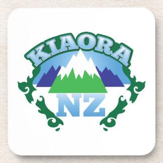 Kiwi Nueva Zelanda de KIORA hola Posavasos De Bebidas