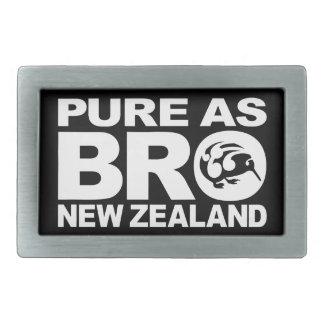 Kiwi, Nueva Zelanda puro Hebilla Cinturón Rectangular