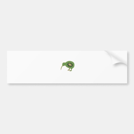 kiwi nz kiwifruit bumper sticker