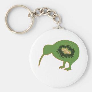 kiwi nz kiwifruit keychain
