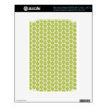 Kiwi pattern skin for the NOOK