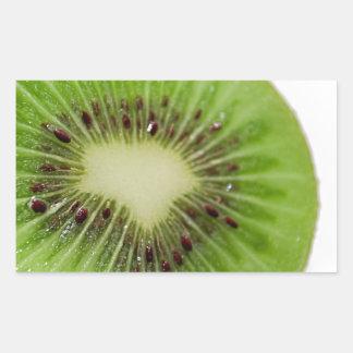 Kiwi Picture Close up Rectangular Sticker