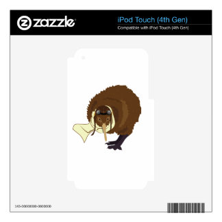 Kiwi Pilot Decal For iPod Touch 4G