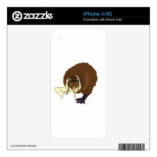 Kiwi Pilot Skins For iPhone 4