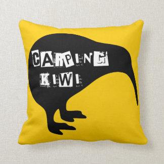 KIWI, pom del mar del sur y kiwi del Carping Cojín