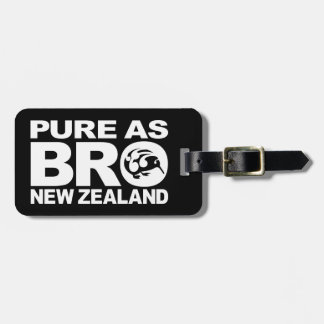 Kiwi, Pure New Zealand Luggage Tag