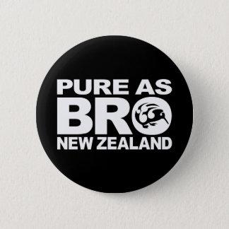 Kiwi, Pure New Zealand Pinback Button