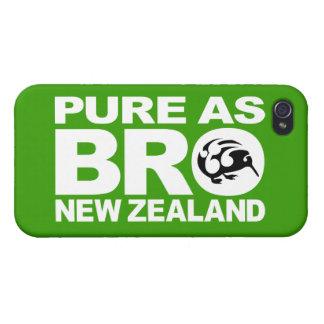 Kiwi, puro como bro, Nueva Zelanda iPhone 4/4S Carcasa