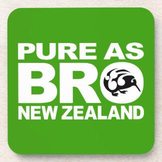 Kiwi puro como bro Nueva Zelanda Posavasos De Bebida