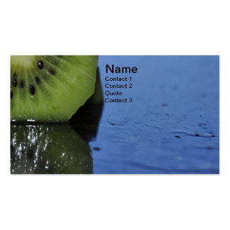 Kiwi Reflection Fruit Business Card
