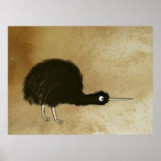 Kiwi reservado poster