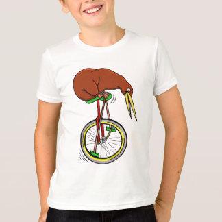 Kiwi Riding A Unicycle T-Shirt