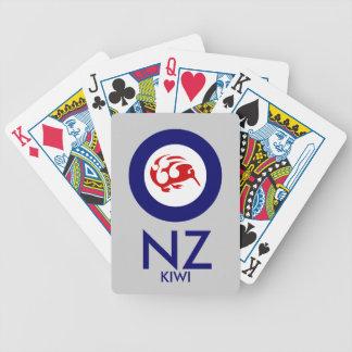 Kiwi Roundel Bicycle Playing Cards