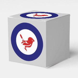 Kiwi Roundel Caja Para Regalos