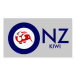 Kiwi Roundel Double-Sided Standard Business Cards (Pack Of 100)