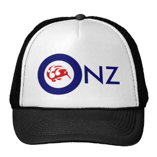 Kiwi Roundel Mesh Hats
