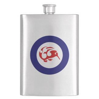 Kiwi Roundel Hip Flask