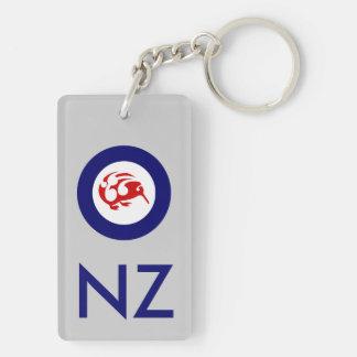 Kiwi Roundel Keychain