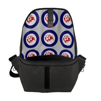 Kiwi Roundel Messenger Bag