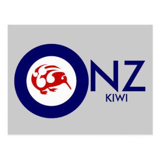 Kiwi Roundel Postcard