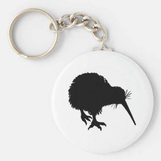 Kiwi Silhouette Keychain