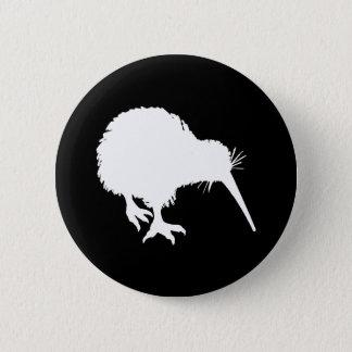 Kiwi Silhouette Pinback Button