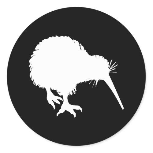 Kiwi Silhouette sticker