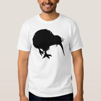 Kiwi Silhouette T Shirts