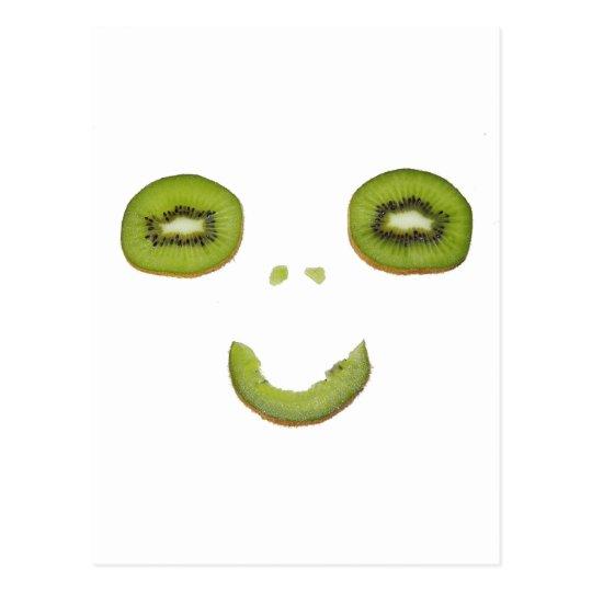 Kiwi - Smile - postcard