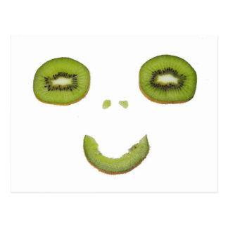 Kiwi - Smile tarjeta postal -