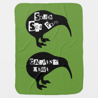 KIWI, South sea pom, Carping Kiwi Stroller Blanket