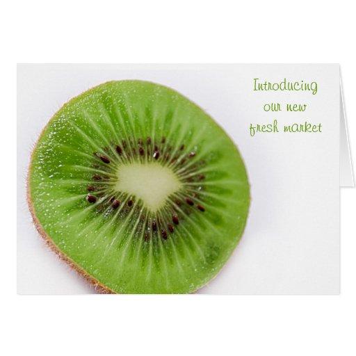 Kiwi Tarjeta De Felicitación