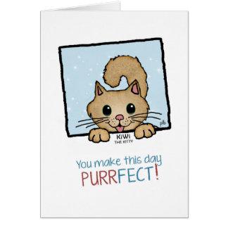 Kiwi the Kitty (Pathway Pet) Card